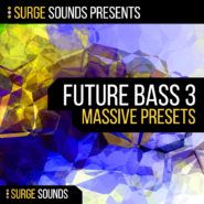 Future Bass 3 - Bantana Audio | 'Future Bass 3' is proudly brought to you by Surge Sounds!  This 3rd collection of sounds delivers to you 64 high quality and expertly crafted presets for NI Massive.  We at Surge Sounds are always pushing the boundaries so we can deliver top quality and authentic tones and timbres to you.  Artist that inspire this pack include San Holo, Flume, Wave Racer, and Pegboard Nerds.  We are confident that with this pack you will get your Future Bass productions to the next level!  Product Details: 64 NI Massive Presets 18 Leads 16 Synths 15 Basses 15 Plucks  4 Macros on every preset Multi-Genre 100% Royalty-Free  NI Massive 1.3 or higher is required.