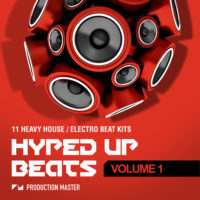 Hyped Up Beats – Volume 1 by Production Master on Bantana Audio