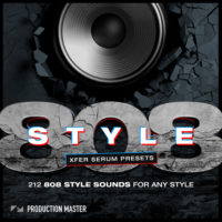 808 Style – Xfer Serum Presets by Production Master on Bantana Audio
