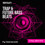 Revolvr presents Trap & Future Bass beats - Bantana Audio | Revolvr needs little introduction, especially with releases under his belt on Monstercat, Universal, CR2, Simplify etc. Known for his slamming bass music, original sounds and immaculate production skills, he is now sharing these secrets. This pack contains 11 Trap & Future bass beat contruction kits (89 24bit wav drumloops) produced by Revolvr himself and delivered to you by Production Master. All these files are ready to be dragged and dropped into you projects and are 100% royalty free. Make the next Trap or Future Bass hit with these beats! Inspired by: Apashe, Snails, NGTHMRE, Carnage, Jack U, Diplo, Brillz, Laxx, Yellow claw, flostradamus, heroes x villians, TroyBoi, Herobust, Slander, Flume, KRNE, Odesza, Wave Racer, Daktyl.