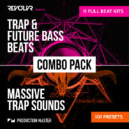 Revolvr Trap Combo Pack - Bantana Audio | Revolvr needs little introduction, especially with releases under his belt on Monstercat, Universal, CR2, Simplify etc.