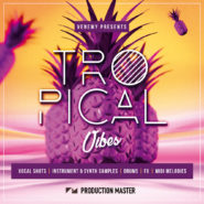 "Tropical Vibes - Bantana Audio | Tropical house has been dominating the charts everywhere. Playfull marimbas, lush chords, crazy vocal chops and vox leads play the head role in every hit of this massively popular genre. ""Tropical Vibes"" is packed with original sounds and riffs that will set the dancefloor on fire and inspire.