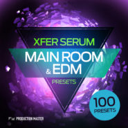 Main room and EDM presets – for Xfer Serum