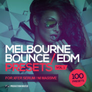 Melbourne Bounce / EDM Presets – For Xfer Serum and NI Massive