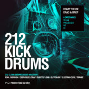 212 Kick Drums – Volume 1