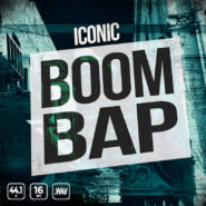 Iconic Boom Bap - Bantana Audio | <span>Meet Iconic Boom Bap. The old school hip hop drum power pack. Includes 200+ files of the best Boom Bap kicks, hats, snares and more. It's dripping wet with hip hop drum sauce.</span>