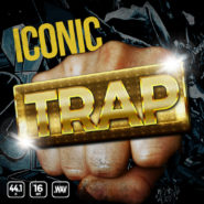 Iconic Trap - Bantana Audio | <span>A bedroom producer's secret weapon. Inspired by syrup, those who have the sauce, gold chains and hard hitting bass, Iconic Trap is the modern day trapper treasure chest of over 200+ drum samples that make your tracks go bonkers.</span>  Get stupid bananas on your beats and instantly sound like the best. These sounds are certified and designed by hit makers.  All sounds are 100% Royalty-Free for you to use in your commercial and non commercial productions.  Product Details: <ul>  <li>222 Files</li>  <li>46 Hats</li>  <li>83 Kicks</li>  <li>65 Snares</li>  <li>23 Percussion</li>  <li>5 Sound FX</li>  <li>2 Minutes of Audio</li>  <li>All in .WAV 44.1 16bit</li>  <li>42.2MB of Samples</li> </ul>