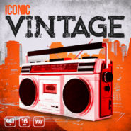 Iconic Vintage - Bantana Audio | <span>Stop. Drop, and let Iconic Vintage drum samples roll. Full of character, depth, and warmth, Iconic Vintage features over 240+ of the best hip hop samples on the market.</span>