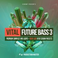 Vital Future Bass 3 - Bantana Audio | Following the huge success of the Vital Future Bass series, Vital Future Bass vol. 3 is filled with new sounds, loops and presets, ideal for making quality shelf tunes.