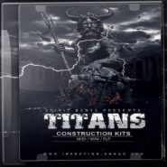 Titans Construction Kits - Bantana Audio | 'Titans' a trap package consists of fresh and unusual aggressive sounds, heavy as if a thunder in the sky of chords and melodies. You will get 5 construction kits not similar at each other inspired by such remarkable people as OJ da Juiceman, Gunplay, Johnny Cinco, Hoodrich Pablo Juan, Quavo, French Montana and K Camp. In This product, you will find all that will be necessary for creation of your beat.  Product Details: • 5 Flp • 24-bit Audio • 100% Royalty-Free • 208 MB (Unzip) • 150 WAV, MIDI Files  Product Contains: • FX • Bass • Pads • Keys • Drums • Synths • Arps • Brass • Bells • Hits • Guitars