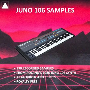 Juno 106 Samples on Bantana Audio