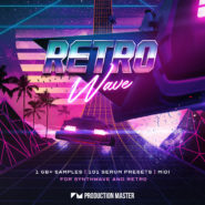 "Retro Wave: Synthwave & 80's Retro - Bantana Audio | ""'Retro Wave: Synthwave & 80's Retro' is a brand new XL pack that will take you back to the 80's! If synthwave is the style that you are gunning for, then this 1 GB+ pack will surely satisfy your senses. On 'Retro Wave: Synthwave & 80's Retro', we focused on an authentic experience of the classic synthwave characteristics. Created with analog instruments such as the Yamaha DX7, Roland Jupiter-8 and Virus TI, and we used genuine 80's creation and processing techniques. This pack is chockfull of vintage analog sounds, loops and one-shots just as they would sound in 1980-1989.