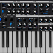 Little P-2 - Bantana Audio |  VST Synthesizer Instrument with unison, 2 oscillators with 24 waveforms, it got 2 lfos with 20 shapes and destinations for the lfo, also 1 pitch env and one filter env, also an amplifier, it one filter, and there is 1 vowel filter, it got pitch bend and mod wheel and aftertouch, porta with slide mode, Up to 8 voices polyphony, one main octave, bend range, velocity on/off, very handy for fast sounds, 99 Presets also an sequencer.